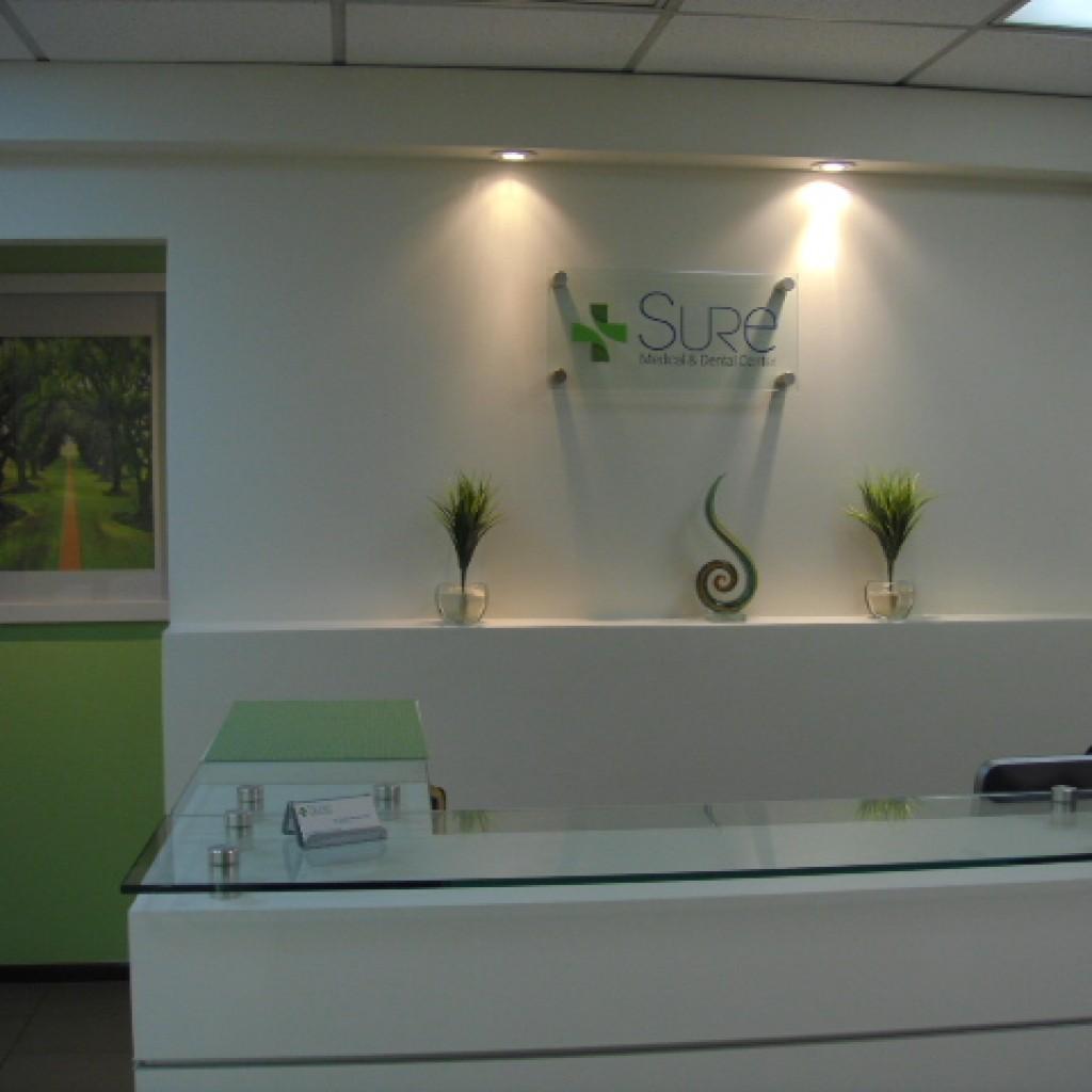 recepcion clinica dental sure
